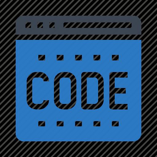 browser, code, internet, programming, webpage icon