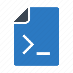 coding, document, files, programming, script icon