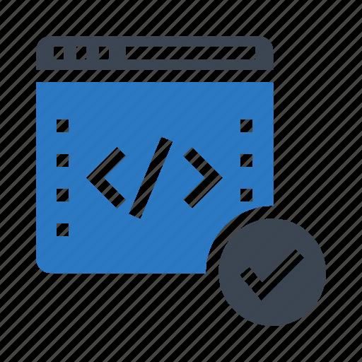 coding, internet, online, programming, webpage icon