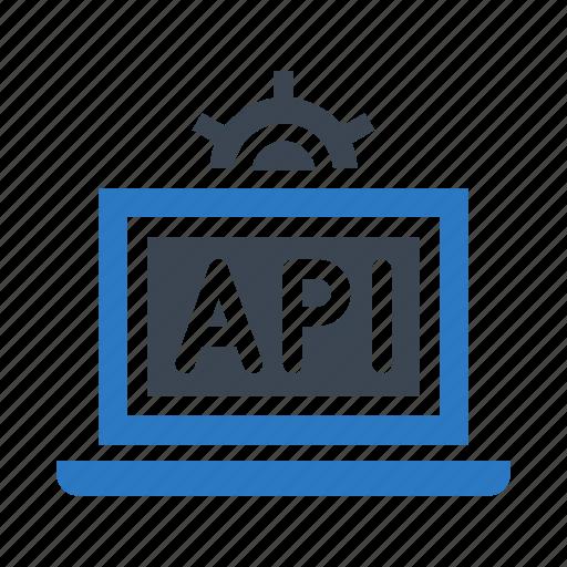 development, device, laptop, programming, setting icon