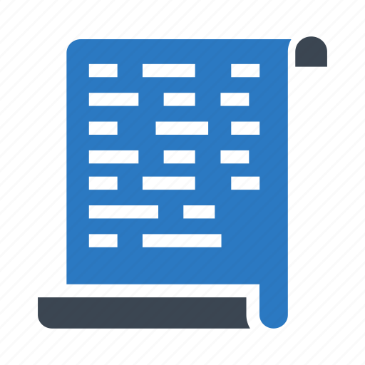 document, file, flyer, page, programming icon