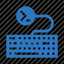 coding, keyboard, keypad, programming, typing icon