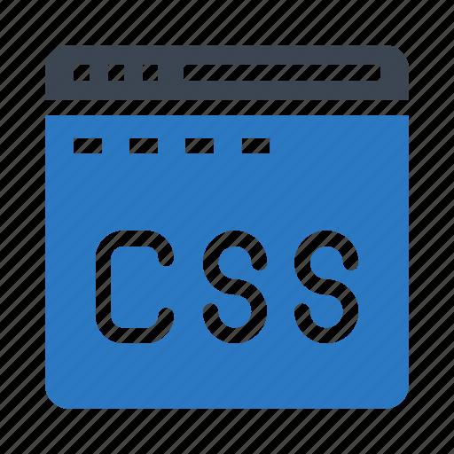 css, internet, language, webpage, window icon