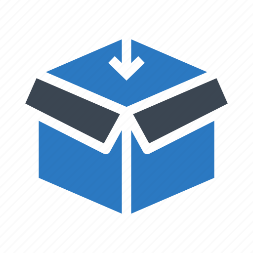box, delivery, package, parcel, present icon