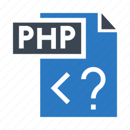coding, file, php, programming, scripting icon