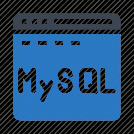 browser, database, internet, webpage, window icon