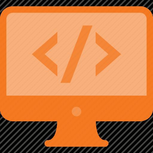 code, computer, develop, development, source icon