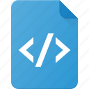 code, development, file, programing icon