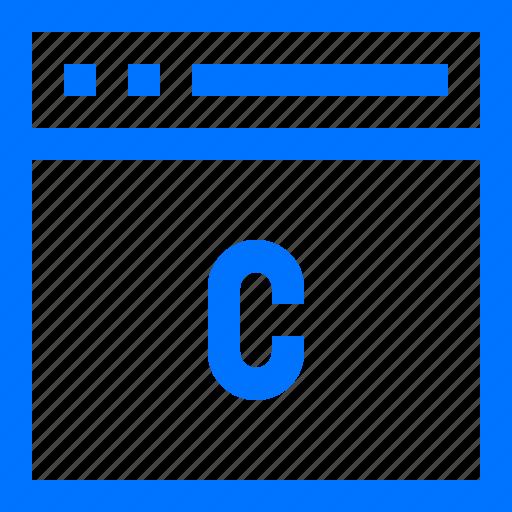 Browser, c, development, language, programming, script, software icon - Download on Iconfinder