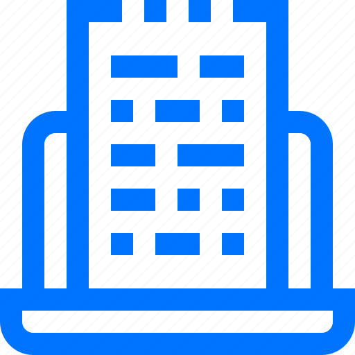 article, coding, content, document, file, notebook, programming icon