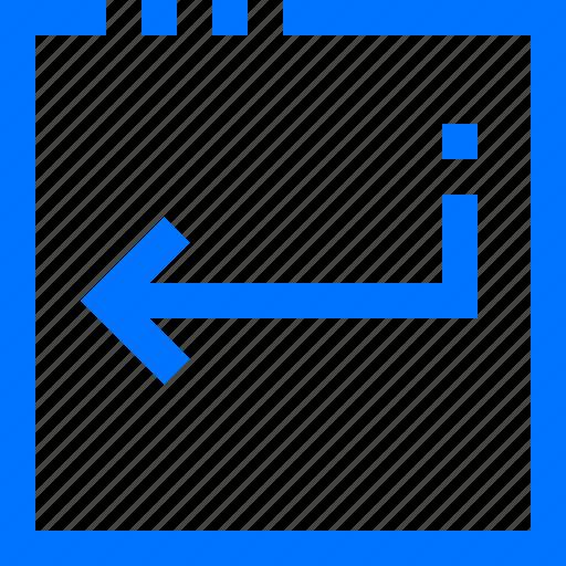 command, enter, programming icon