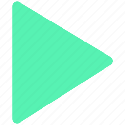 play, run, start, startup icon