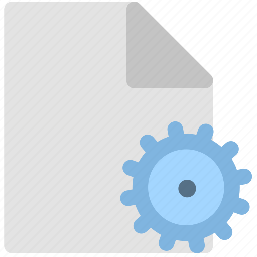 configuration file, development, programming icon