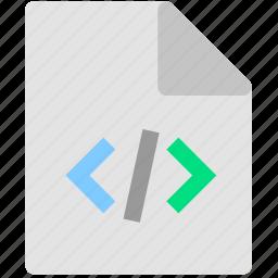 development, file, script icon