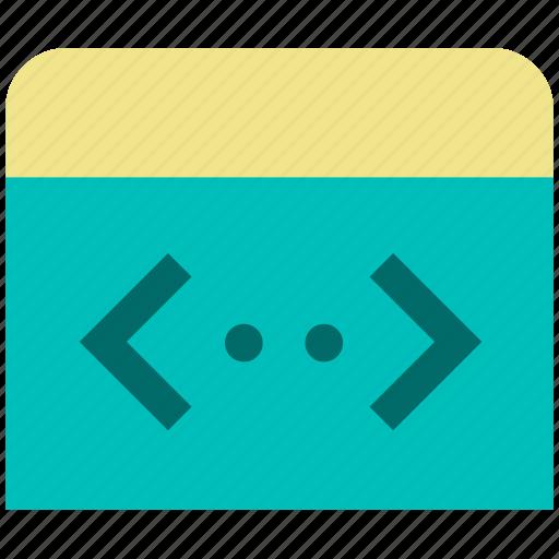 application, code, development, programming icon