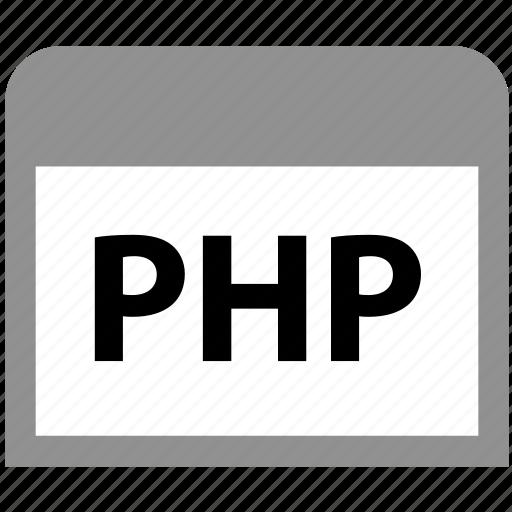 development, php, programming, web, website icon
