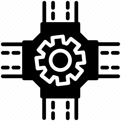 connecting to network, connection process, networking, technology symbol icon