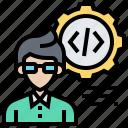 businessman, developer, hacker, professional, programmer