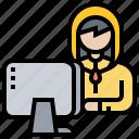 computer, cybercrime, hacker, phishing, security