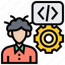 coding, developer, freelance, man, programmer