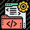 coding, computer, development, programming, software icon