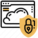 application, cloud, protect, security, shield