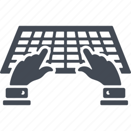 development, keyboard, programming, web icon