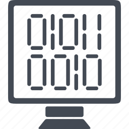 development, internet, monitor, programming, web icon