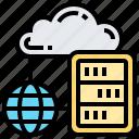 backup, cloud, hosting, server, storage