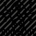 debug, repair, report, script, solution icon