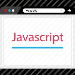 code, javascript, online, web development icon