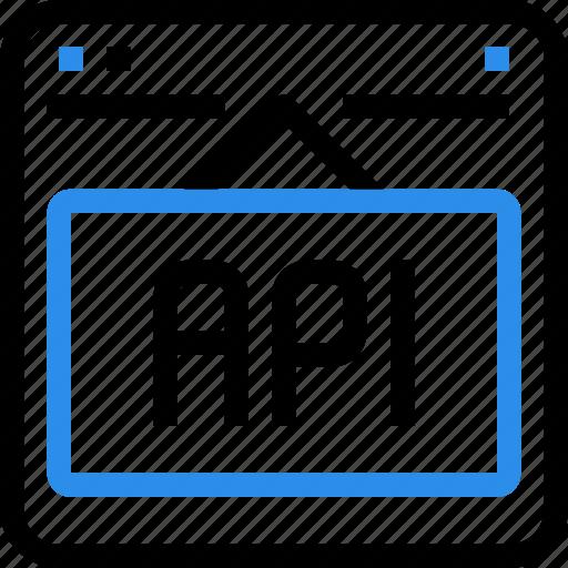 api, browser, code, coding, interface, programming icon
