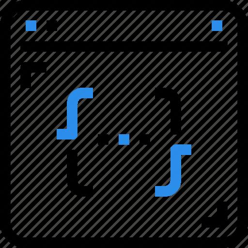 browser, code, coding, development, interface, internet, programming icon