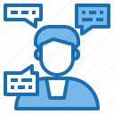programming, counsel, software, communication, technology, digital, workplace icon