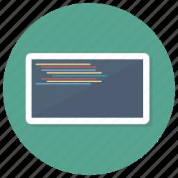 code, coding, computer, programming, screen, web icon