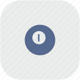 ball, billiard, game, rounded, square icon