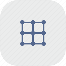 grid, image, rounded, square, transform icon