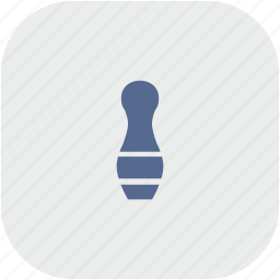 game, kegel, rounded, square icon
