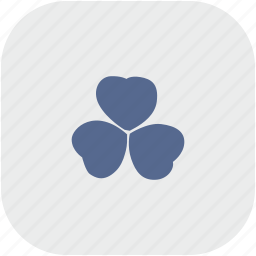 ireland, leaf, nature, rounded, square icon