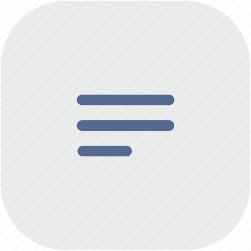 editor, notepad, rounded, square, text icon