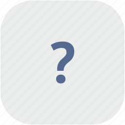 ask, quest, question, rounded, square icon