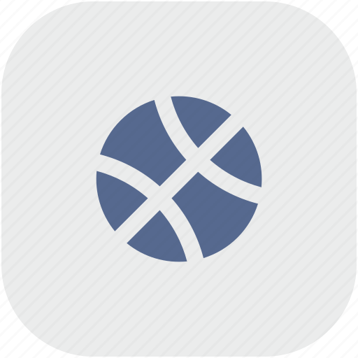 ball, game, rounded, sport, square icon