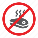 attention, forbidden, meat, no, prohibited, sign, zone