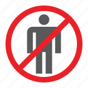 attention, forbidden, no, people, prohibited, sign, zone