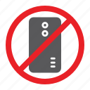 attention, forbidden, no, prohibited, sign, smartphone, zone