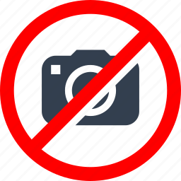 camera, circle, danger, forbidden, information, no, photos, picture, prohibited, prohibition, red, stop, warning icon