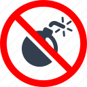 awarness, bomd, circle, danger, forbidden, information, prohibited, prohibition, red, risk, stop, warning icon
