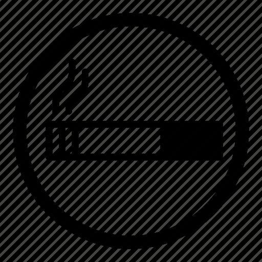 cigarette, smoke, smoking, smoking allowed, smoking area, smoking room icon