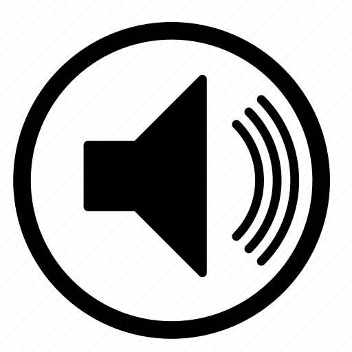 audio, music, sound, speaker, unmute, voice, volume icon