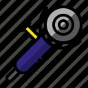 construction, grinder, project, spin grinder